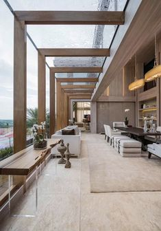 Home Room Design, Dream Home Design, Modern House Design, Home Interior Design, Interior Architecture, Beautiful Architecture, High End Furniture Stores, Villa Design, Terrace Design