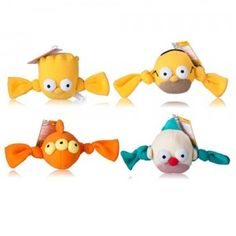 The Simpsons Tennis Fleece Toys are great indoor pet toys. See full review and where to buy at TTPM