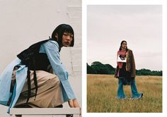 Ronan McKenzie and Yeon You explore the concept of space in their latest editorial for Wonderland. Fashion Art, High Fashion, Editorial, Wonderland, Raincoat, Fashion Photography, Magazine, Space, Female