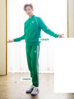 #GOT7 #갓세븐 18.03.14 #GOT7_X_Adidas #Bambam #뱀뱀 BAMBAM GREEN