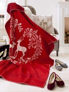 Nouveau Style Confort et LUXE TARTAN Stag Coussin Chambre Décoration 100/% polyester
