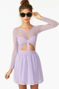 Nasty Gal Censored Skater Dress