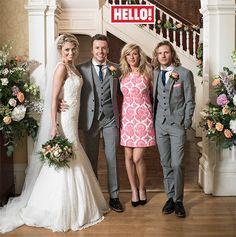 Danny Jones and Georgia Horsley wedding