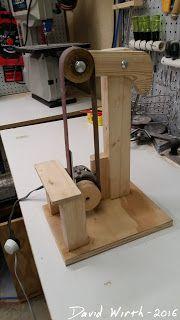 Free strip sander build