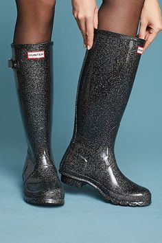1daf6c44f5f8df Slide View  4  Hunter Starcloud Tall Rain Boots Hunter Rain Boots