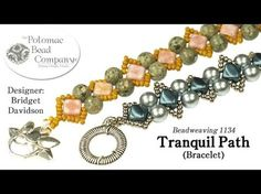 """This video tutorial from The Potomac Bead Company teaches you how to make Anna Taylor's """"Elizabethian Ruff"""" bracelet. Find a list of supplies in the descript..."""