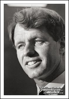 """Robert F. Kennedy Large Print  """"A BRILLIANT OPTIMISM"""" Congresswoman Edith Green Election Campaign Old Portland Labor temple, October 24, 1966  """"This generation of Americans has a rendezvous with destiny."""" RFK quoting Franklin Roosevelt- October 24, 1968, Portland, Oregon  http://www.clydekeller.com/servlet/the-1094/Robert-F.-Kennedy%2C-A/Detail"""