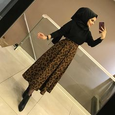 Image may contain: 1 person, standing Hijab Prom Dress, Hijab Outfit, Prom Dresses, Hijab Casual, Hijab Chic, Muslim Fashion, Modest Fashion, Fashion Outfits, Maxi Skirt Outfits