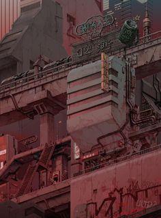 84 Best Cyberpunk images in 2019 | Fantasy landscape, Conceptual Art