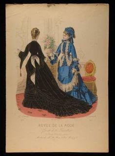 Revue de la Mode circa 1874
