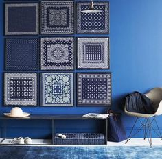 Feng Shui Decorating with Water: Blue Color Wall Paint