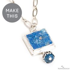 Download this Druzy Tutorial by Nunn Design Innovation Team Member Stephanie Gard Buss!  This great Druzy Technique creates a whole new purpose for all the broken beads laying about!