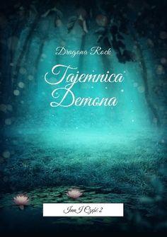 Okładka książki Tajemnica Demona + link do strony Lubimy Czytać