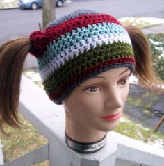 Snowboarder Chic Hat by karenswimmer on Etsy, $20.00