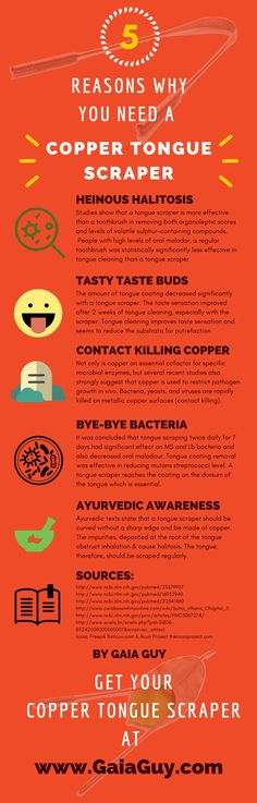 5 reasons why you need a copper tongue cleaner