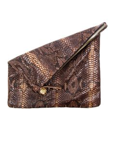 @Clare Vivier Fold Over Clutch, $180