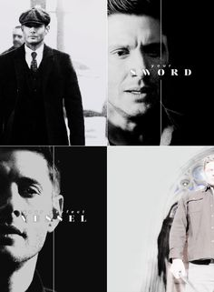 It's you. [It's not chance. It's a plan that is playing itself out perfectly.] You're the Michael sword. [Free will's an illusion, Dean. That's why you're going to say yes.] — DEAN, starring as Michael #spn