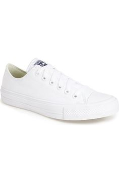 White Sneakers Converse Chuck Taylor® All Star®  Chuck II  Low Top Sneaker  (Women) available at 95b006e30