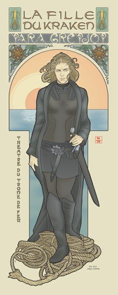 The Kraken's Daughter  by ElinJ #got #asoiaf