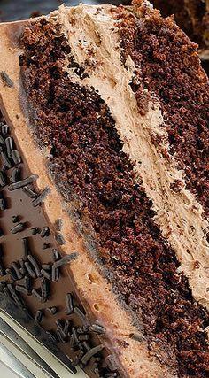 The BEST Chocolate Cake Chocolate Cake Recipe If you wish to make a homemade chocolate cake from scr Best Chocolate Cake, Homemade Chocolate, Chocolate Desserts, Chocolate Lovers, Chocolate Chocolate, Chocolate Frosting, Food Cakes, Cupcake Cakes, Cupcakes