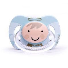 ¡Tu bebé hecho todo un angelito con este chupete navideño! Con tetina anatómica de látex y fisiológica de silicona. Disponible tan sólo hasta el 7de enero de 2016.