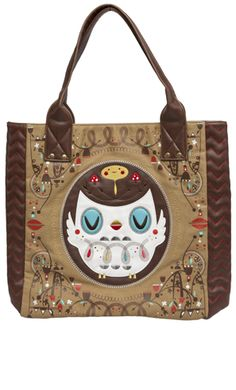 LOUNGEFLY OWL TOTE BAG