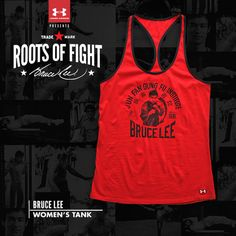 31351bdfc65d3 UA x ROF - Bruce Lee Women s Picture Tank Roots Of Fight