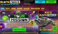 Check out each and every detail about Slots Force, and Here we have shared Slots Force Review for all online casino lovers. http://www.onlinebingoz.com/reviews/slots-force/