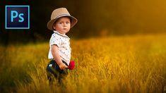 """Soft"" Style Dreamy Child Portrait Edit in Photoshop | PiXimperfect"