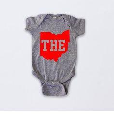 26cfc730b THE Ohio State Onesie®, Ohio State, Ohio State Baby, Football Baby,  Football Onesie®, Baby Boy Onesi