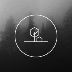 Studio in the Sticks – Design studio – Badge logo – Steve Arscott. Tree and hous… - Design Minimal Logo Design, Minimalist Design, Minimalist Kitchen, Minimalist Interior, Minimalistic Logo, Creative Logo, Creative Studio, Logo Inspiration, Logo Arbol