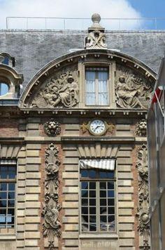 La Bibliothèque Nationale de France Richelieu.Louvois  - Paris 2e