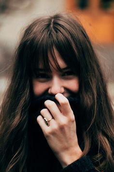 Brunette Wearing Timeless Ring | www.simplebeautifullife.net