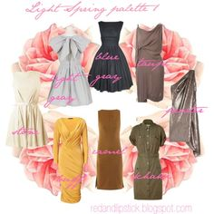 "Képtalálat a következőre: ""light spring type"" Light Spring Palette, Spring Color Palette, Spring Colors, Colour Combinations Fashion, Fashion Colours, Bright Spring, Warm Spring, Seasonal Color Analysis, Spring Girl"