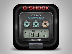 g-shock icon