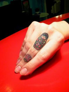adollable matryoshka tattoo