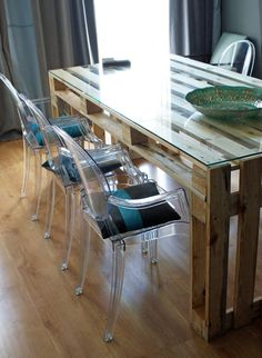 Stół z palet do JADALN (de Fabryka Palet)