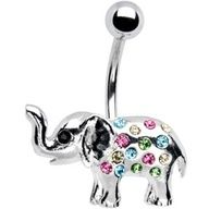 Once i get my belly button pierced i want atleast one Elephant piercing just for good luck(: