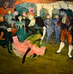 Henry Toulouse Lautrec...One of the fastest men to ever sketch a scene...ever.