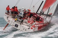 Dongfeng sail toward historic Volvo Ocean Race win, Azzam in second