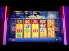 Slot machine bonus win on In the Gold!