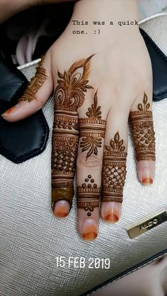 Mehendi design by . Back Hand Mehndi Designs, Finger Henna Designs, Legs Mehndi Design, Mehndi Designs For Girls, Modern Mehndi Designs, Mehndi Design Pictures, Mehndi Designs For Fingers, Beautiful Mehndi Design, Mehndi Designs For Hands