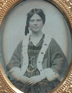 Ambrotype of a young lady - ebay