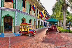 Parque del Cafe, Quindio, Colombia.
