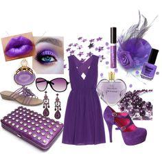 I Like Purple!, created by beth-tkmo on Polyvore