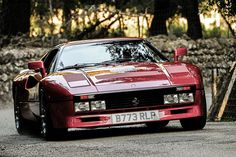 The Ferrari Berlinetta was unveiled at the 2012 Geneva Motor Show . The car is a front mid engine grand tourer and is a replacement for the Ferrari Ferrari 288 Gto, Ferrari Car, Retro Cars, Vintage Cars, Sport Cars, Race Cars, Peugeot, Jaguar, Good Looking Cars