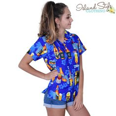 Beer Hawaiian Shirt - Looks great on gals and guys http://islandstyleclothing.com.au/
