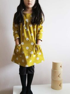 Monday Outfit: Kokka Tunics + Half-leggings – Sanae Ishida