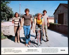 """Breaking Away is hands down my favorite cycling movie. Great underdog story too."" --Mary R"