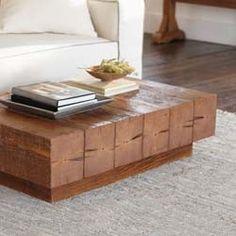 Superb Chunky Timber Coffee Table